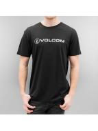 Volcom T-shirt Linoeuro Basic nero