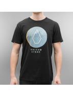 Volcom T-shirt Cracked Basic nero