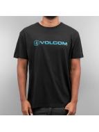 Volcom T-Shirt Euro Pencil noir
