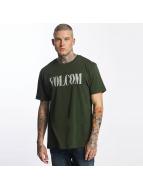 Volcom t-shirt Weave olijfgroen