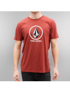 Volcom T-Shirt Circlestone Basic red