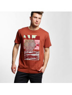 Volcom T-Shirt Wave Basic rouge