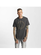 Volcom T-shirt Pinline Stone Heather svart
