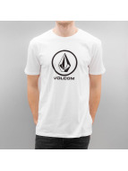 Volcom t-shirt Circlestone Basic wit