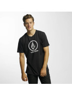 Volcom t-shirt Circle Stone Basic zwart