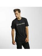 Volcom t-shirt Line Euro Basic zwart