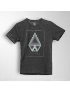 Volcom t-shirt Concentric Hth zwart