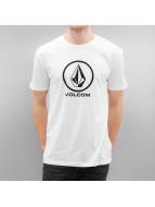 Volcom T-Shirts Circlestone Basic beyaz