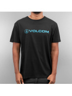 Volcom T-Shirty Euro Pencil czarny