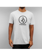Volcom T-Shirty Circle Stone szary