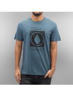 Volcom T-skjorter Stone Stamp blå