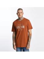 Volcom T-skjorter Garage Club brun