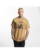 Volcom T-skjorter Trippin khaki