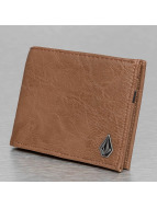 Volcom Wallet Slim Ston brown