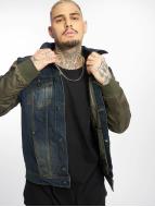 VSCT Clubwear Демисезонная куртка Bomber Sleeves хаки