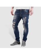 VSCT Clubwear Облегающие джинсы Alec Slim 5 Pocket синий