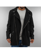 VSCT Clubwear Пальто Biker черный