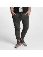 VSCT Clubwear Спортивные брюки Destroyed Biker хаки