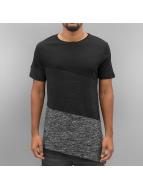 VSCT Clubwear Футболка Sate Mix Fabric серый
