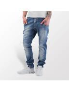 VSCT Clubwear Dan Deep Crotch O-Leg Jeans Blue Stoned