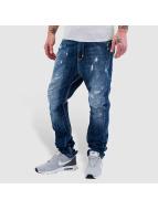 VSCT Clubwear Noah Cuffed Antifit Jeans Multi Repair