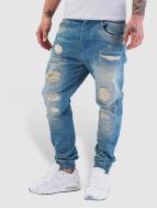 VSCT Clubwear Noah Cuffed Jeans Vintage Sunfaded Blue