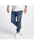VSCT Clubwear Ninja Cuffed Jeans Blue Stoned