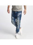 VSCT Clubwear Noah Biker Jeans Vintage Blue Stoned