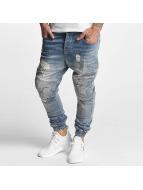 VSCT Clubwear Antifit jeans Clubwear Noah Biker blå
