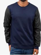 Basic Sweatshirt w. Leat...