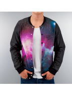 VSCT Clubwear Blouson Teddy Galaxy multicolore