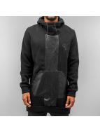 VSCT Clubwear Bluzy z kapturem Mesh czarny