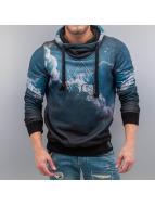 VSCT Clubwear Bluzy z kapturem Dark Clouds niebieski