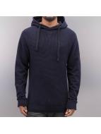 VSCT Clubwear Bluzy z kapturem Knit Sweat Waffle niebieski