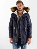 VSCT Clubwear Luxury Parka Navy