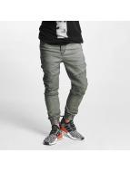 VSCT Clubwear Chinot/Kangashousut Noah Biker oliivi