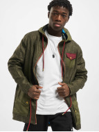 VSCT Clubwear Coats Contrast Rain olive