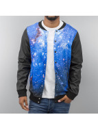VSCT Clubwear College Jacket Galaxy black