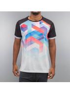 Geo Maze Fade T-Shirt Bl...