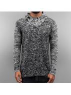 VSCT Clubwear Hoodie 2 Btn Hooded Moulinee 2 Colour grå