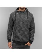 VSCT Clubwear Hoodies Shiro 2 Zip Moulinee Kangool grå
