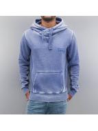 VSCT Clubwear Hoody Burn Out Twisted blau
