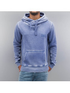 VSCT Clubwear Hoody Burn Out Twisted blauw
