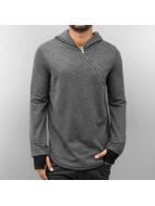 VSCT Clubwear Hoody Zip Collar grau