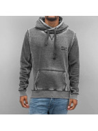 VSCT Clubwear Hoody Burnout Twisted grau