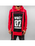 VSCT Clubwear Hoody 2 Zip Design rood