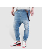 VSCT Clubwear Brad Slim Jeans With Suspenders Oxygen