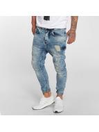 VSCT Clubwear Jean carotte antifit Keanu Lowcrotch bleu