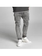 VSCT Clubwear Logan Tri-Star Denim Jeans Black Moonwash