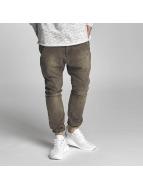 VSCT Clubwear Logan Tri-Star Denim Jeans Kaki Overdye